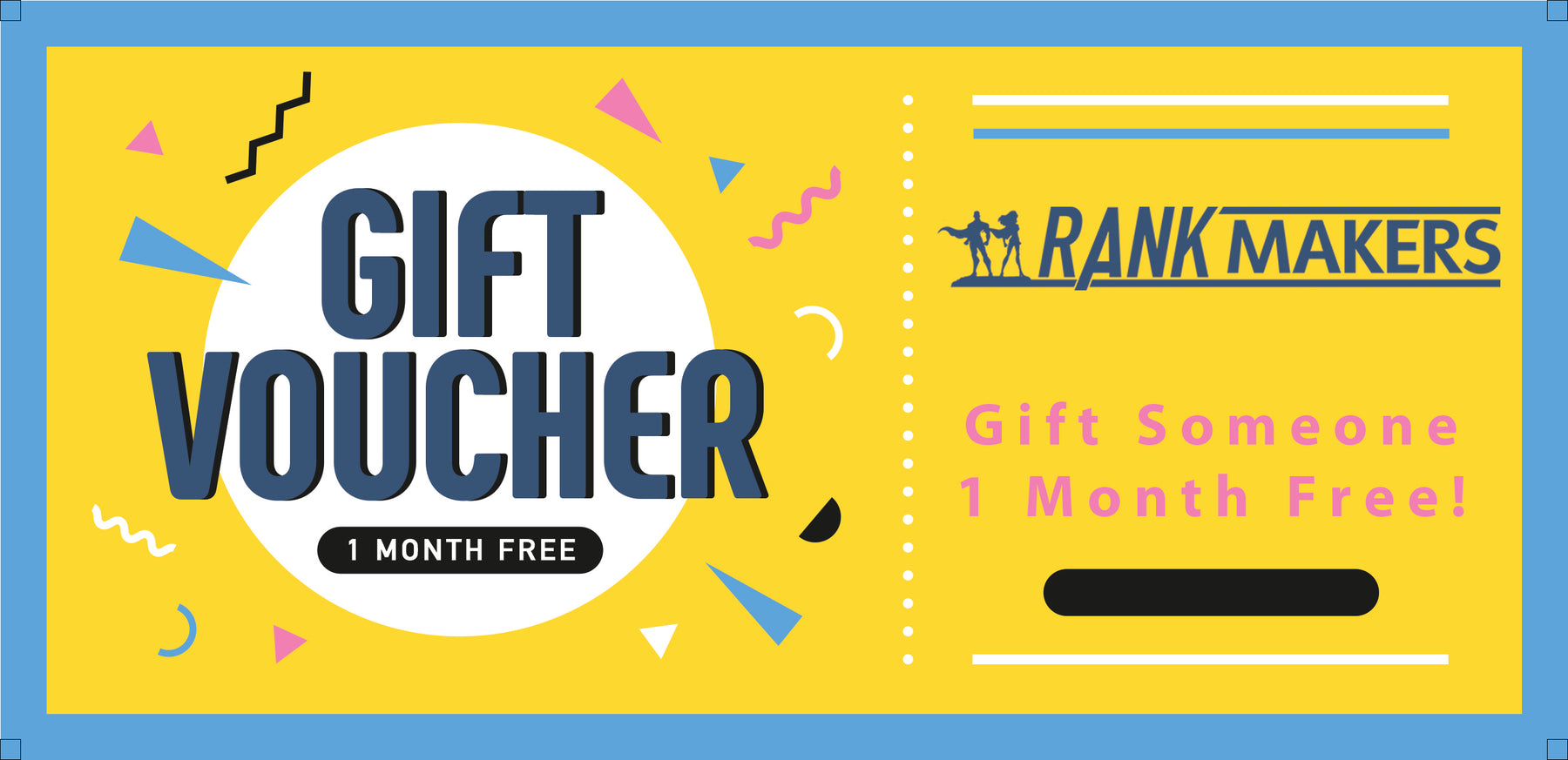 Rank Makers - 1 Month Gift Card