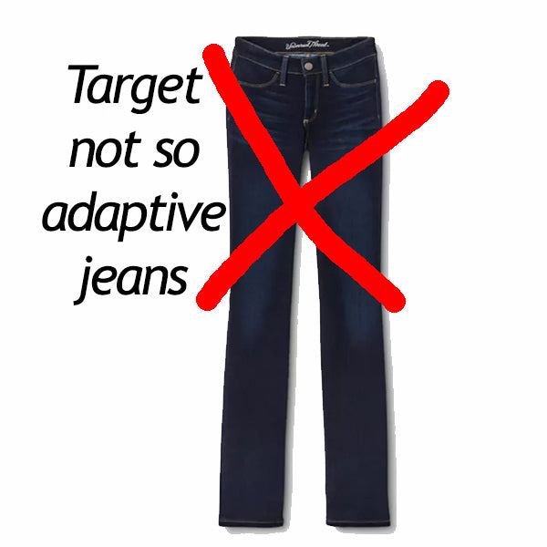 target not so adaptive jeans