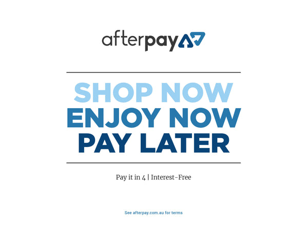 AfterPay shop now enjoy now pay later