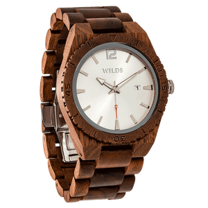 Men's  Walnut Wooden Watch - worldgad