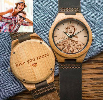 Custom Wood Watch - worldgad