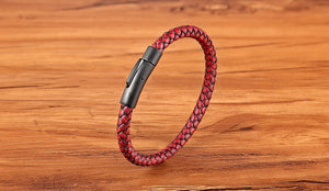 Classic Style Men Leather Bracelet - unisex - worldgad