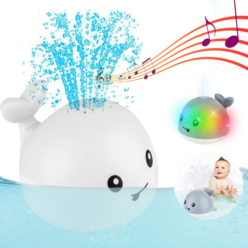 UFO WHALE - 2 in 1 Bath Toy