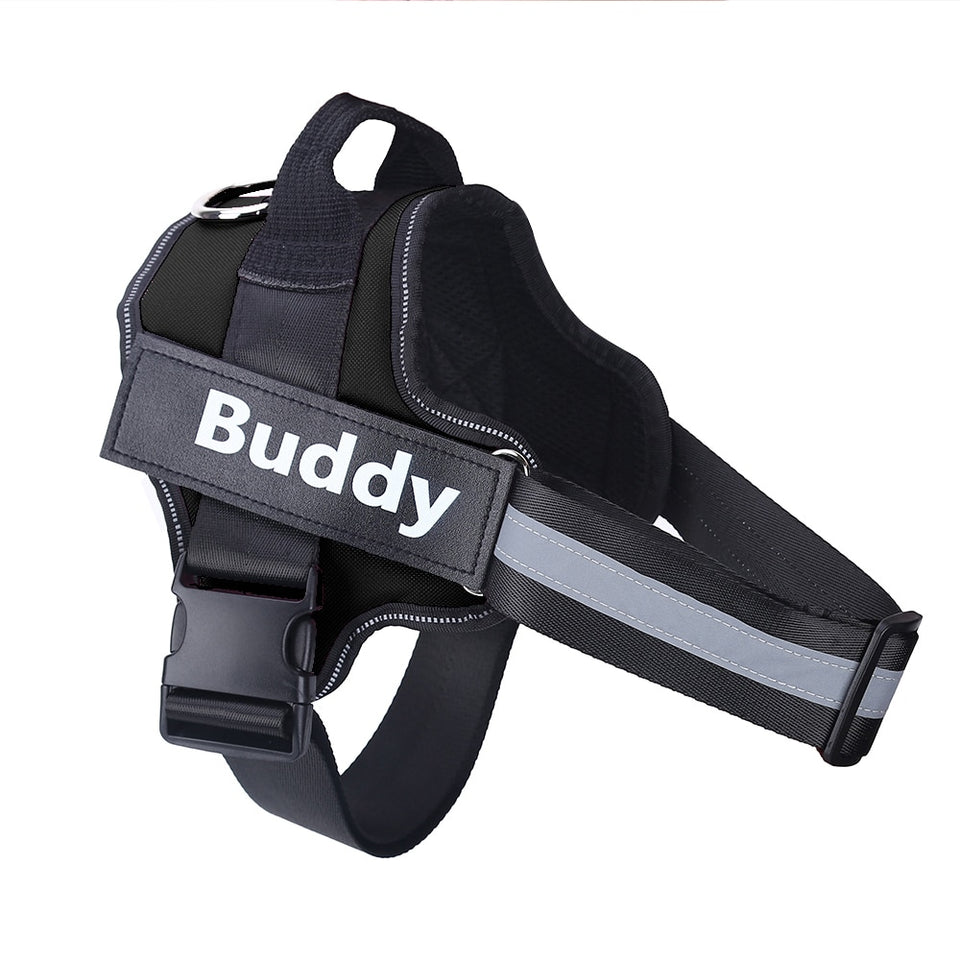 Personalized No-PULL Dog Harness - Reflective & Breathable strap - worldgad