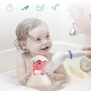 Bath Tub Hatching Easter Egg Sprinkler Toy