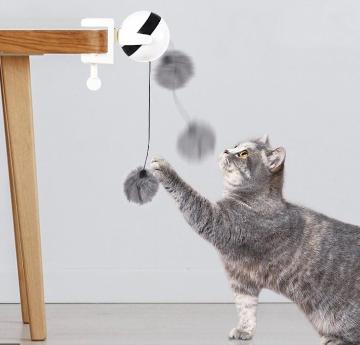 Automatic Cat Teaser Toy Ball