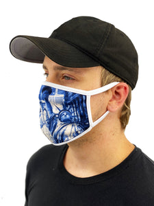 NYC Face Mask With Filter Pocket - worldgad