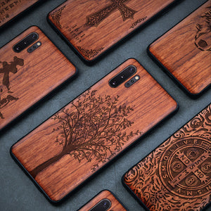 Natural Wood Phone Case For Samsung Galaxy and Note - worldgad