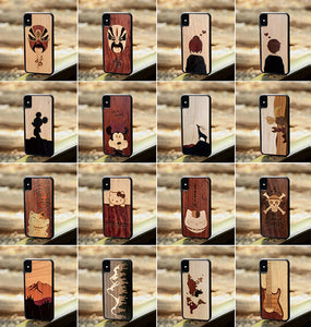 Custom Adventure SERIES Wood Phone Cases - worldgad