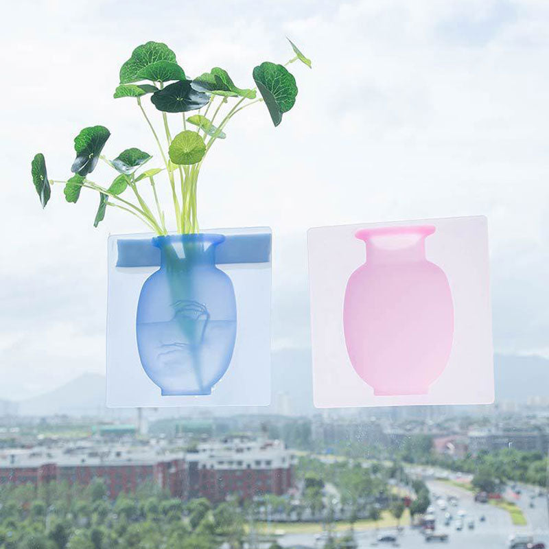 Magic Silicone Sticky Vase - worldgad