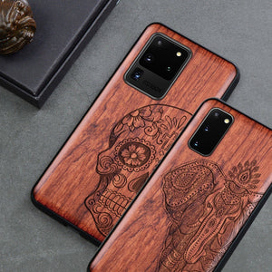 Natural Wood Phone Case For Samsung - worldgad