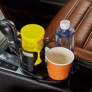 Car Dual Cup Holder/Organizer - worldgad