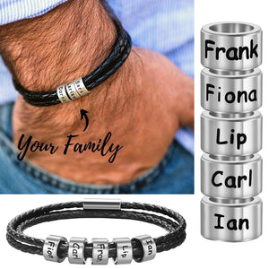 Family Name Bracelet for men - worldgad