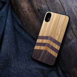 Walnut Wood Phone Case for Iphones - worldgad