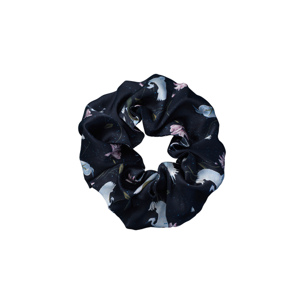 Leo Black scrunchie from The Beauty Sleeper