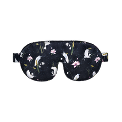 Silk Sleep Mask | Leo Black