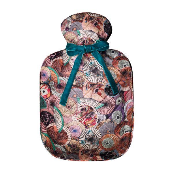 silk hot water bottle large | dorado Soft pastels