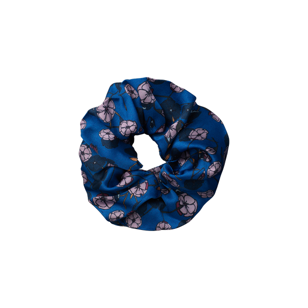Gemini Blue scrunchie from The Beauty Sleeper
