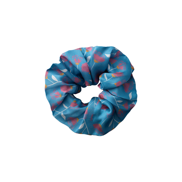 Musca Pale Blue scrunchie from The Beauty Sleeper