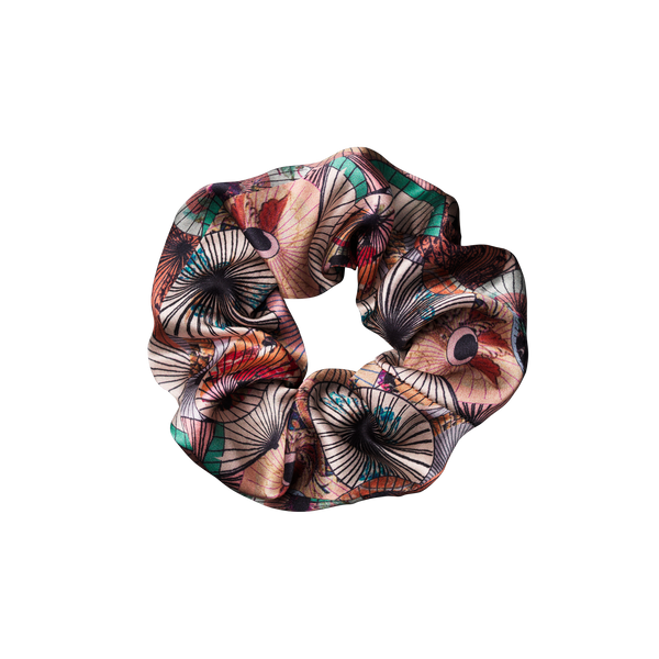 silk scrunchie | dorado soft pastels