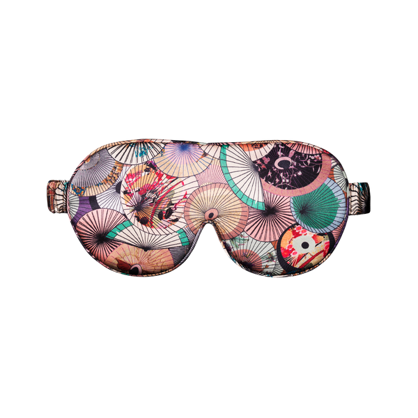 Silk Sleep Mask | Dorado soft pastels