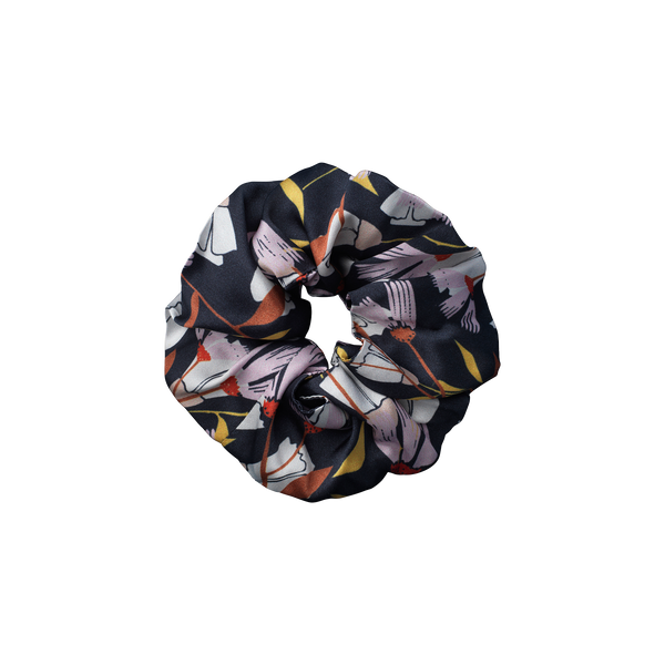 Taurus Black scrunchie from The Beauty Sleeper