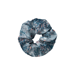 Tucana Silver Mint scrunchie from The Beauty Sleeper