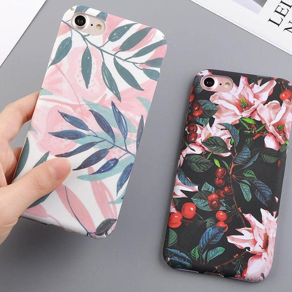Girly Elegant Floral iPhone Cover