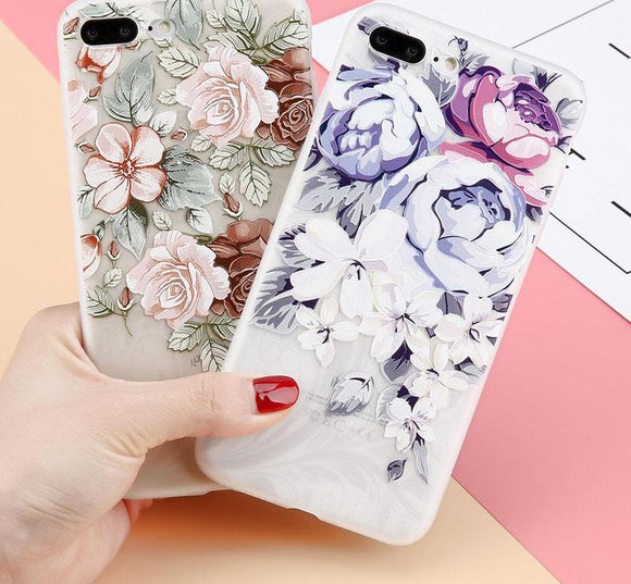 Elegant Floral iPhone Cover - Picaka