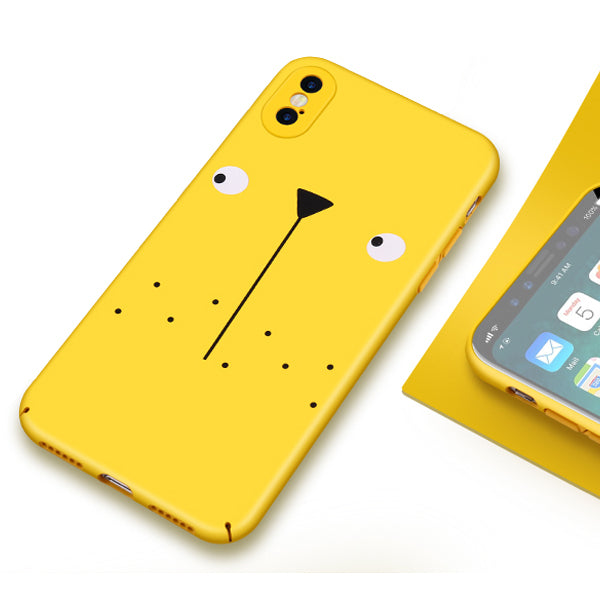 Cute Cartoon Yellow iPhone Cover - Picaka