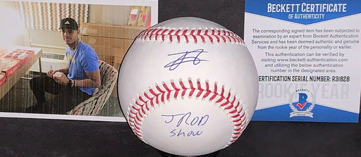 Julio Rodriguez Seattle Mariners Signed Baseball Beckett ROOKIE JROD SHOW 1