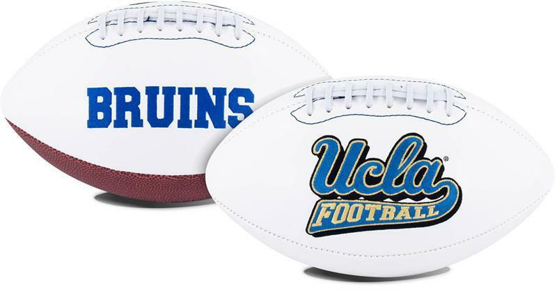 UCLA BRUINS NCAA White Panel Team Logo Full Size Football