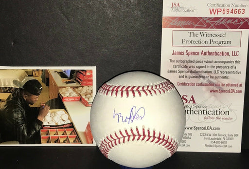 Luis Robert Chicago White Sox Autographed Signed Baseball JSA WITNESS COA Full Signature
