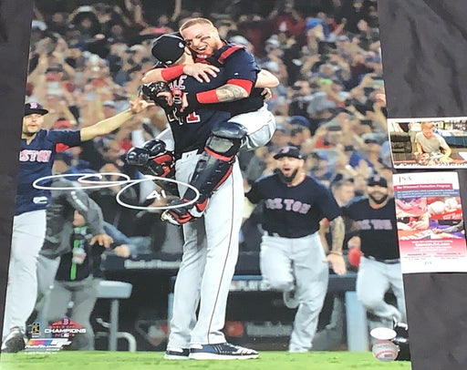 Chris Sale Red Sox 2018 World Series Signed 16x20 Photo JSA WITNESS COA V1