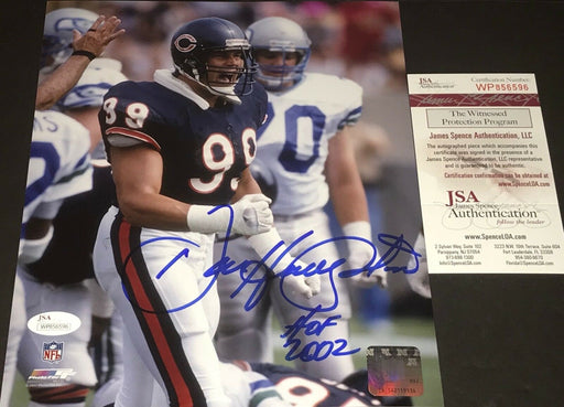 Dan Hampton Chicago Bears Autographed Signed 8x10 Photo JSA WITNESS COA 4