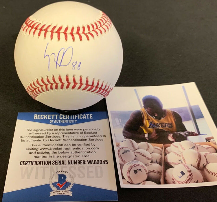 Luis Robert Chicago White Sox Signed MLB Baseball Beckett WITNESS COA #88