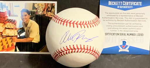 Alek Thomas Arizona Diamondbacks Signed Major League Baseball Beckett WITNESS 1