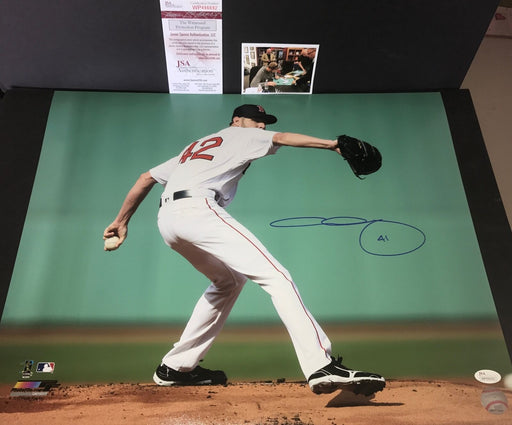 Chris Sale Boston Red Sox Autographed Signed 16x20 Photo JSA WITNESS COA