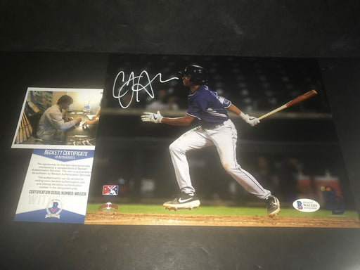 CJ Abrams San Diego Padres Autographed Signed 8x10 Photo Beckett WITNESS COA 5