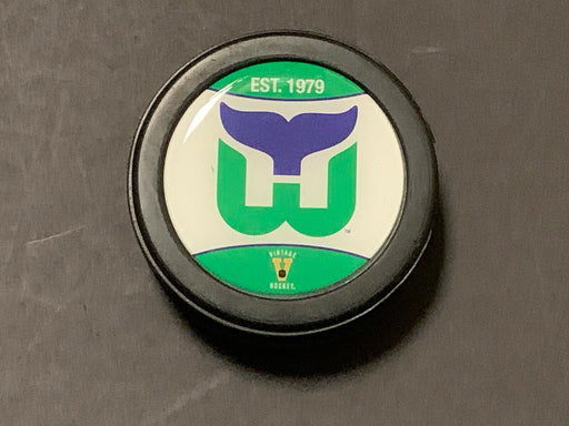 Hartford Whalers Vintage Throwback Hockey Puck NHL Licensed Brand New