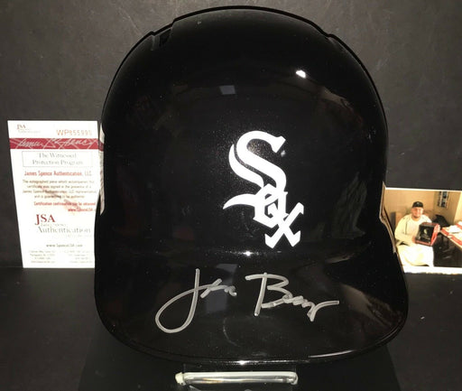 Jake Burger Chicago White Sox Autographed Signed Full Size Helmet