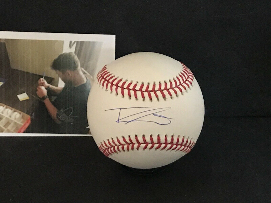 Travis Swaggerty Pittsburgh Pirates Autographed Signed MLB Baseball
