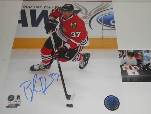 Brandon Pirri Chicago Blackhawks Signed 8x10