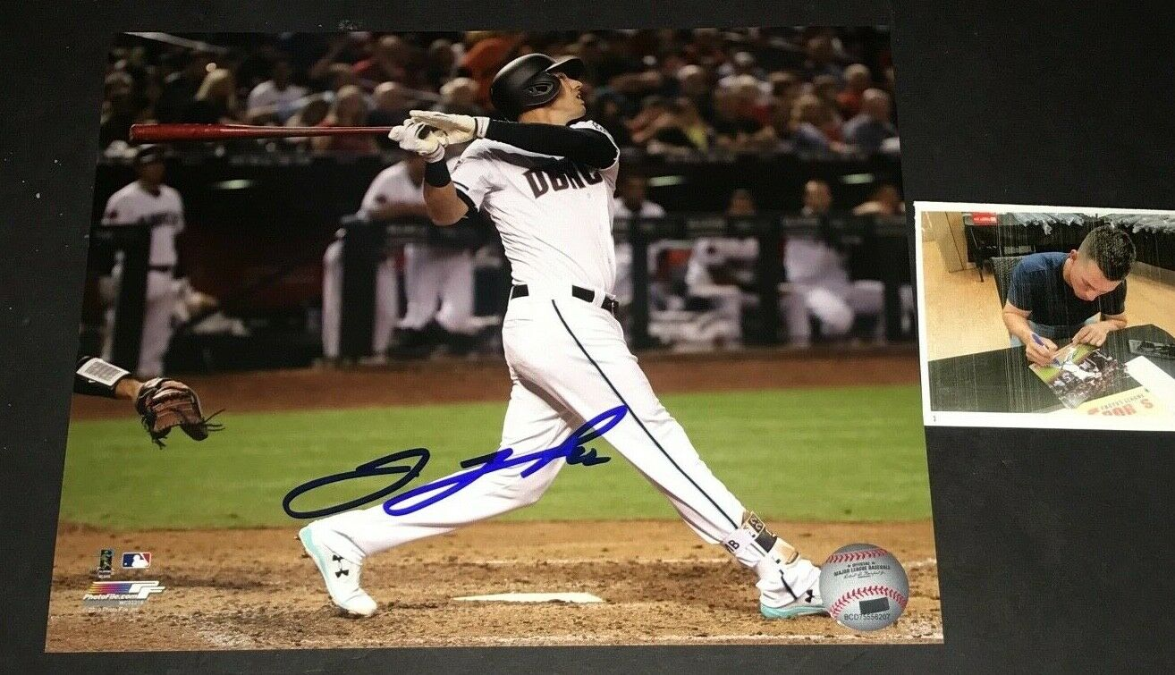 Jake Lamb Arizona Diamondbacks Autographed Signed 8x10 Photo 2