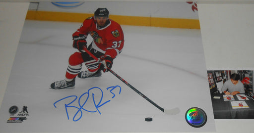 Brandon Pirri Chicago Blackhawks Signed 8x10 Horizontal A