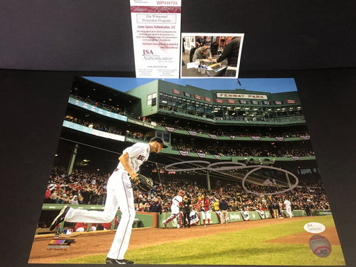 Chris Sale Boston Red Sox Autographed Signed 11x14 Photo JSA WITNESS COA 2