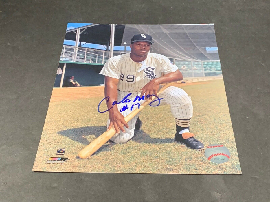 Carlos May Chicago White Sox Autographed Signed 8x10