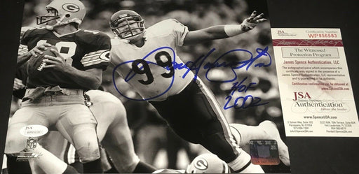Dan Hampton Chicago Bears Autographed Signed 8x10 Photo JSA WITNESS COA 2