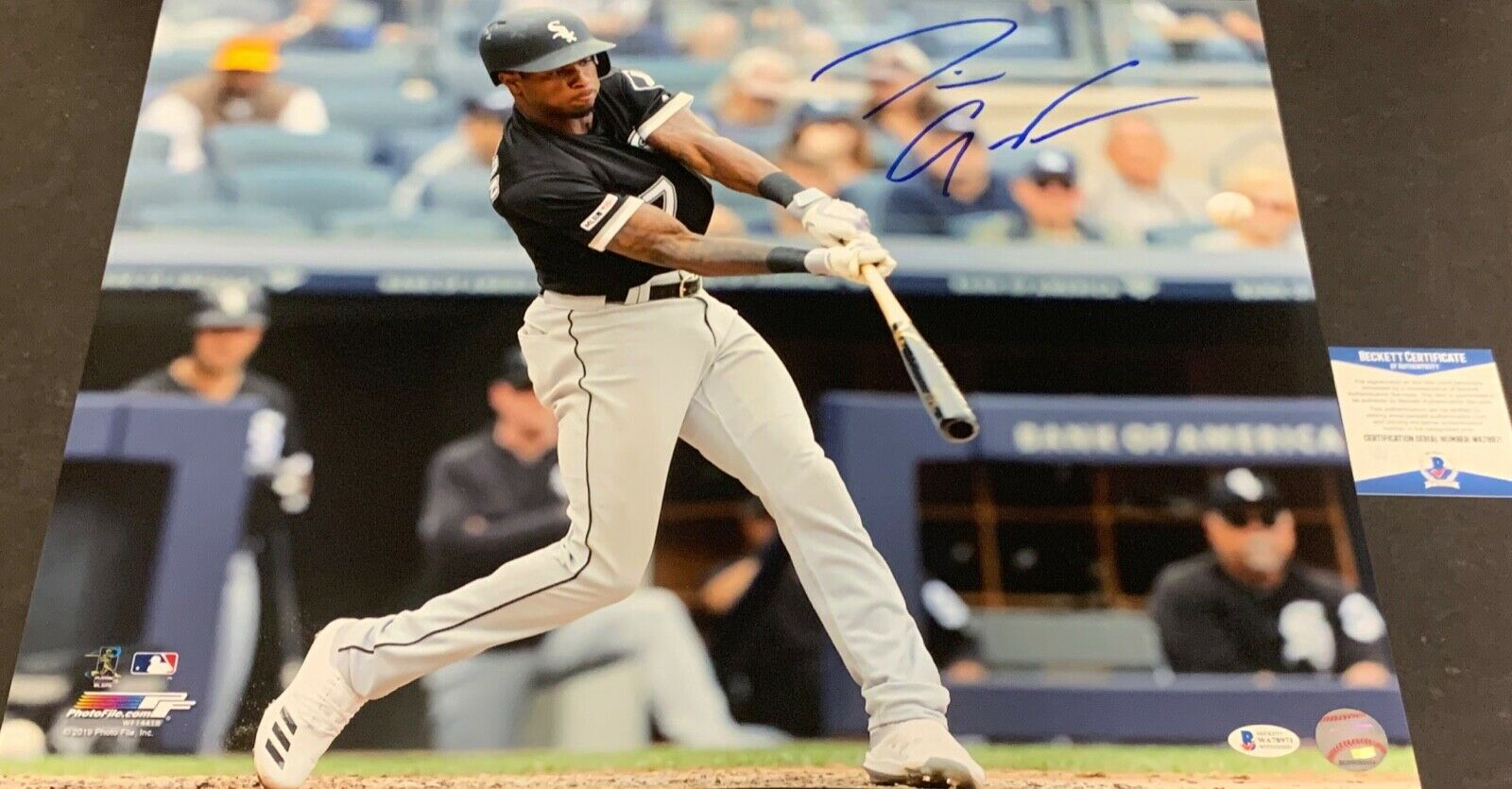 Tim Anderson White Sox Autographed Signed 16x20 Beckett COA 1st MLB Grand Slam .