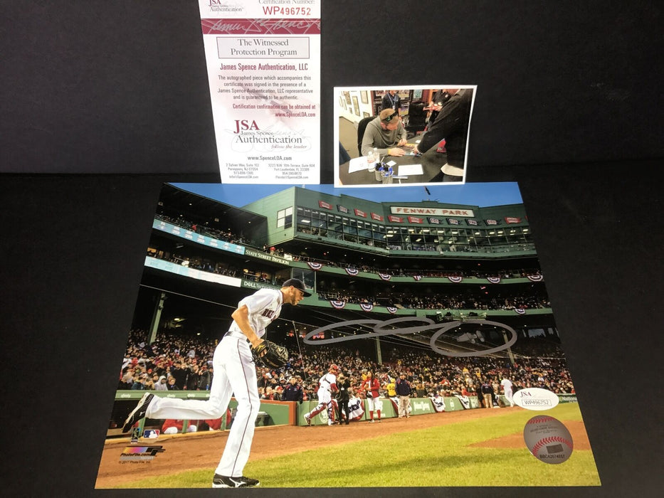Chris Sale Boston Red Sox Autographed Signed 8x10 Photo JSA WITNESS COA 4